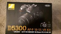 Christmas special!! Nikon D5300 plus bag and accessories Oshawa, L1J 1X6