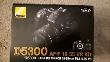 Christmas special!! Nikon D5300 plus bag and accessories