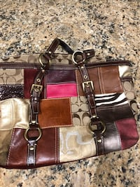 Authentic patchwork coach purse Fair Oaks, 95628