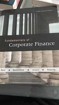 Fundamentals of Corporate Finance by Ross, Westerfield, Jordan, and Roberts Mississauga, L5A 1J9