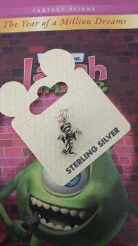 sterling silver mickey mouse wizard charm from WDW Belleville, 48111