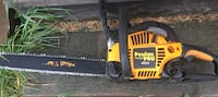 "Like new Poulin Pro 18"" chain saw St. Albert"