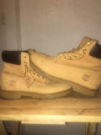 Timberland boots men's size 10 Los Angeles, 90019