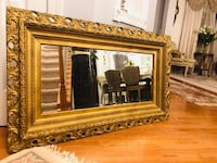 """50""""X29"""" large Super Antique ornate wood heavy Gold mirror """"SERIOUS BUYERS ONLY """" Gainesville, 20155"""