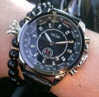 Bentley styled Chrome black fully automatic watch Toronto, M1H 3G2