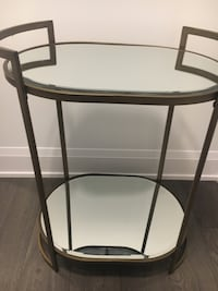 NEW Bronze mirror bar cart Toronto, M4P 1Y5