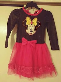 red and black Minnie Mouse long-sleeved dress El Paso, 79924