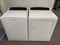 WHIRLPOOL CABRIO  XL TUB HIGH EFFICIENCY WASHER AND DRYER  Pineville, 28134