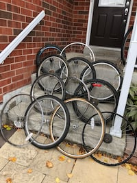 Bike parts and wheels Vaughan, L6A 3W4