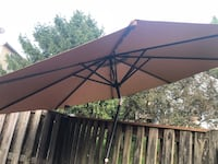 10 FT LED PATIO ALUMINUM UMBRELLA Gaithersburg, 20879