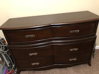 Brown dresser and nightstand combo Monroe, 30655