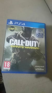 Call of Duty Infinite Warfare PS4 oyun kutusu