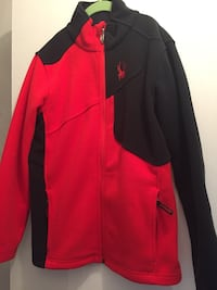black and red Nike zip-up jacket Toronto, M1L 4S5