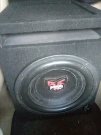 black Kicker subwoofer with enclosure Las Vegas, 89122
