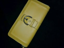 Yellow Coach Wallet (BRAND NEW)