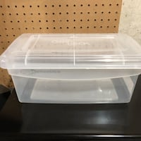 Clear Plastic Storage Containers (3) Twin Lake, 49457