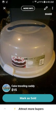 cake traveling carrier