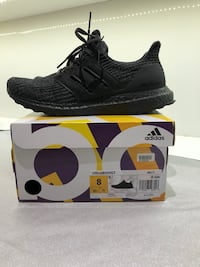 Adidas UltraBoost 4.0 Sz 8- Triple Black - Deadstock