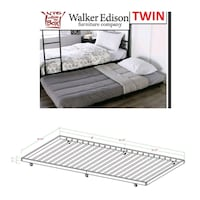 Roll out trundle bed, delivery, new Oshawa, L1J 6A8