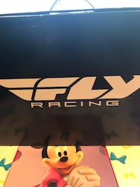 Fly 2017 Youth Maverick MX boots. Never worn. Brand new in the box  Hurricane, 25526