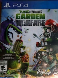 Xbox 360 Plants vs Zombies Garden Warfare game case Red Deer, T4P 1T8