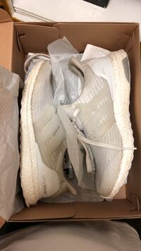 Ultra boost white size 9.0