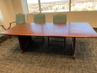 Conference room table/ dining room table