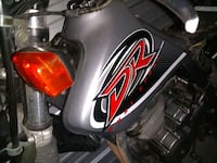 Gas tank 2010/11 dr 650 ICBC salvage have other parts MSG me  Burnaby, V5H 2G3