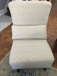 EQ3 Armless fabric chair Toronto, M4M