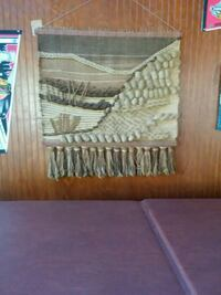 Imported hand made wall hanging Oak Forest