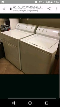 Whirlpool electric washer and dryer Waterloo, 50703