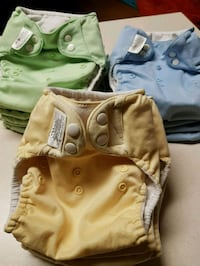 29 Cloth diapers covers 1$ each Langley Township, V4W 3N2