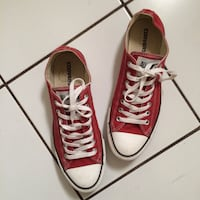 pair of red Converse low-top sneakers Downey, 90242