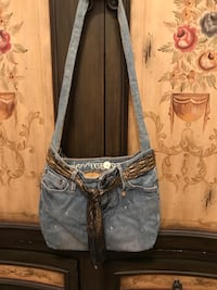 Pretty Handmade Jean Purse