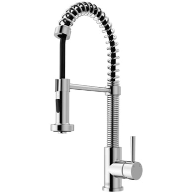 NEW IN BOX!!! Edison Single-Handle Pull-Down Sprayer Kitchen Faucet in Chrome