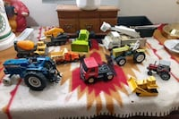 Diecast tractors and construction vechicals Philadelphia