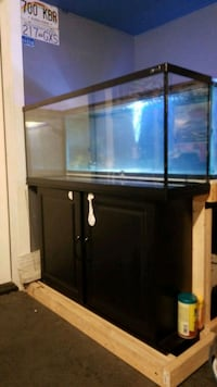 50 gallon fish tank and stand