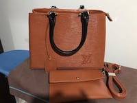 brown leather 2-way handbag Mississauga, L5R 2C5