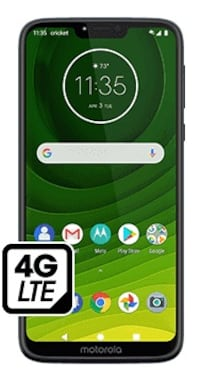 Moto G7 Supra - $100 when you switch to Cricket!