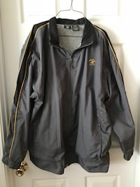 Polo lightweight water repellent jacket size large