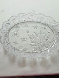 Glass Serving Plate.