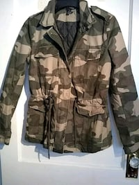 brown and black camouflage jacket Lexington, 40508