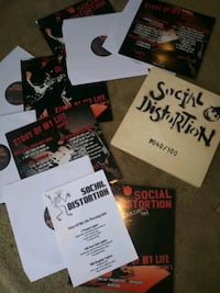 social distortion promo fan copy records punk rock story of my life Carbondale, 18407