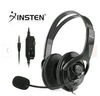 Insten wired headphone headset with Mic control d Edmonton, T5B 1S3