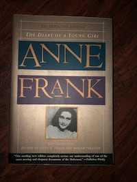 Book - Anne Frank  Mississauga, L5G 2P6
