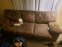 Free sofa just needs TLC good and sturdy Snellville