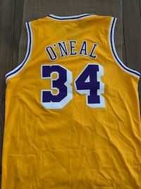 Los Angeles Lakers vintage retro jersey Shaquille O'Neal Oxnard, 93030