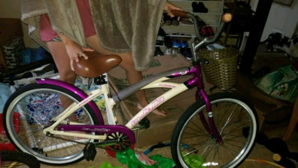 1f26ba55034 Used white and pink BMX bike for sale in Dallas - letgo