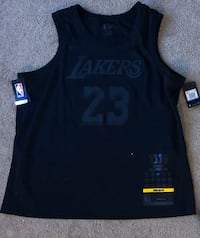 Xxl lebron Lakers jersey