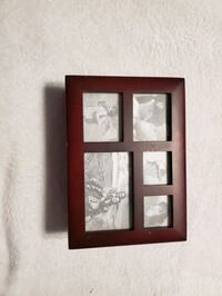Velvet lined picture jewelry box